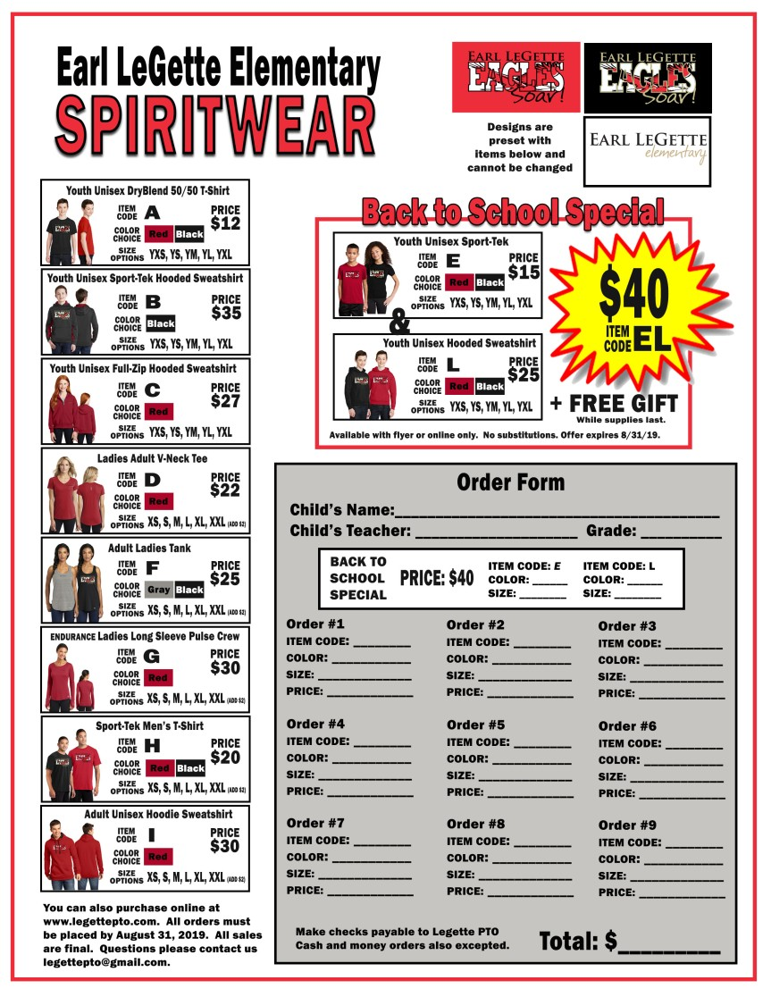Earl Legette Spirit Wear Order Form.jpg